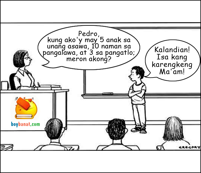 Pinoy School Jokes ~ Boy Banat