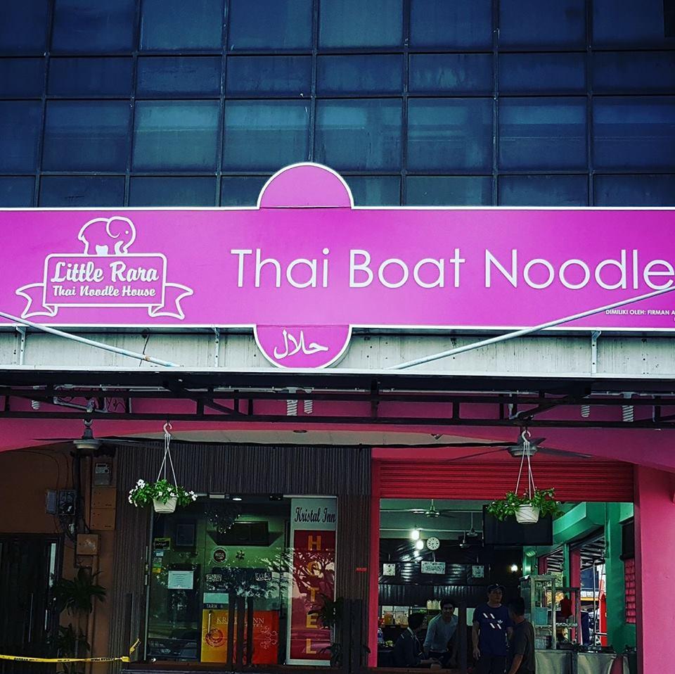 Makanan Thai Yang Sedap Di Little Rara