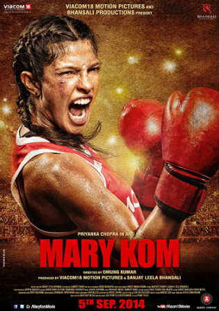 Mary Kom 2014 BluRay 850MB Full Hindi Movie Download 720p Watch Online Free Worldfree4u 9xmovies
