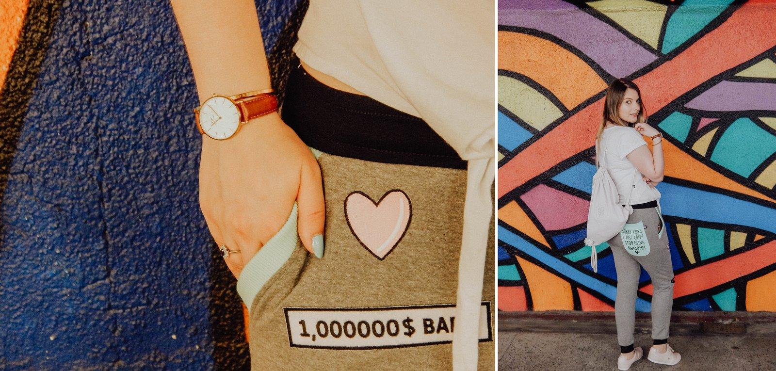 łap nas tylizacja spodnie z suwakami dresówki z dziurami tshirt t-shirt z kaktusem blog blogerka modowa stylizacja łódź fashion beauty kraków kolorowe miejsca streetwear streetstyle