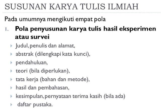 Karya Tulis  Pengertian, Jenis, Cara pembuatan Karya Tulis Materi Pelajaran Bhas. Indonesia
