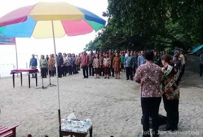Wali Kota Ambon Lantik Ratusan Pejabat Struktural