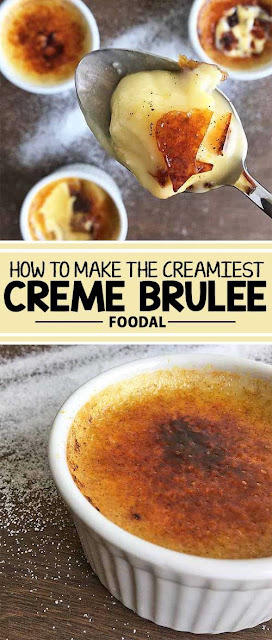The Best Creme Brulee - Learn to make the French classic, a super creamy creme brulee. Our simple recipe offers plenty of options to mix up the flavors. Read more on Foodal.