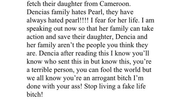 dencia defrauded by pear part one