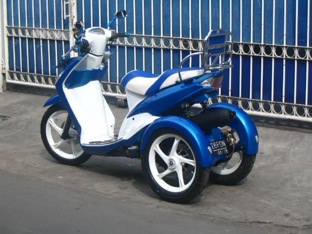 Modifikasi Mio Roda Tiga