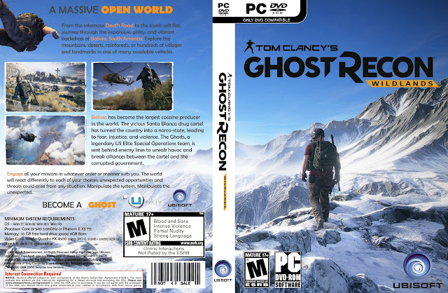 Capa Ghost Recon Wildlands PC