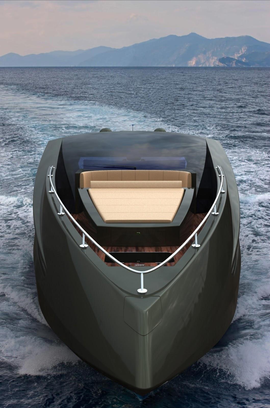 Mauro Lecchi S Lamborghini Yacht