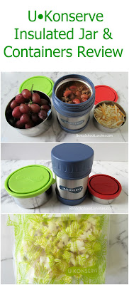 U Konserve Insulated Jar and Leak Proof Containers Review