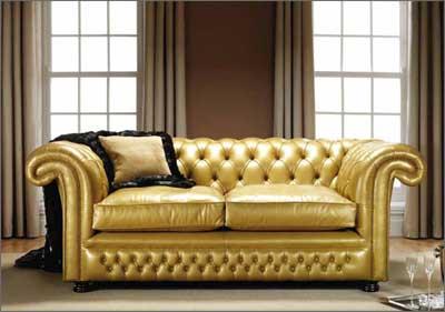 Like Leathers Leather Sectional Sofa