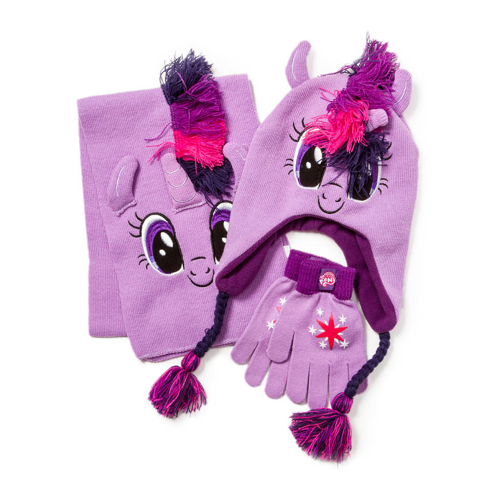My Little Pony Hat Scarf and Gloves Winter Set Pink ) f31c2aba273