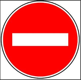 ممنوع المرور في هاد الاتجاه