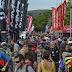 Multitudinaria segunda jornada del festival ciclista Sea Otter Europe en Girona