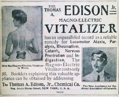 Edison Magno-Electric Vitalizer