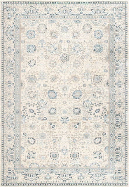 I love farmhouse style, the color blue, and cushy rugs! Here are ten of my favorite blue rugs. All of them perfect for creating that farmhouse style! vintage floral