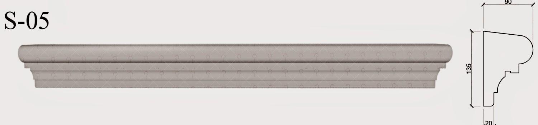 solbanc profile polistiren pentru fatade case de montat la partea de jos a ferestrelor