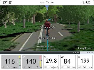 Central Park en BSim con Google Earth