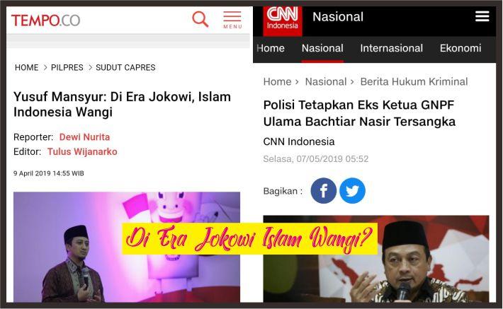 di Era Jokowi Islam Indonesia Wangi