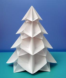 Origami: Bialbero di Natale - Double Christmas tree