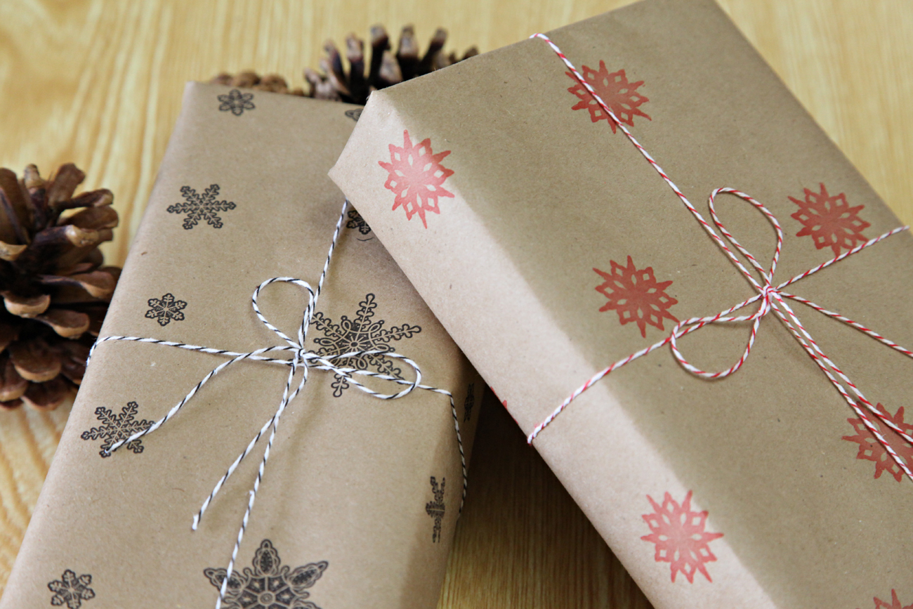 Unify Handmade: Handmade Wrapping Paper