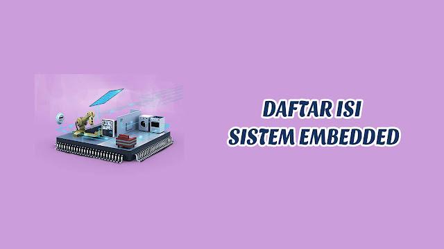Daftar Isi - Sistem Embedded (Modul Praktikum)