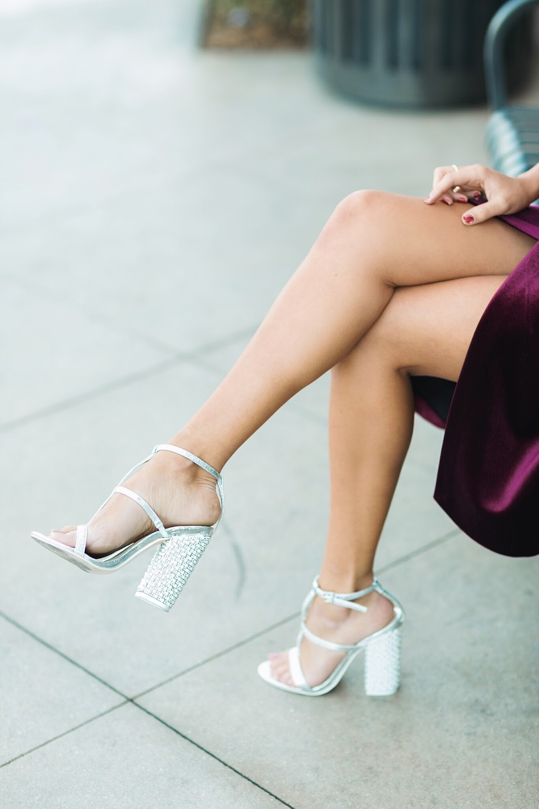 asos party heels, crystal high heels, new years outfit