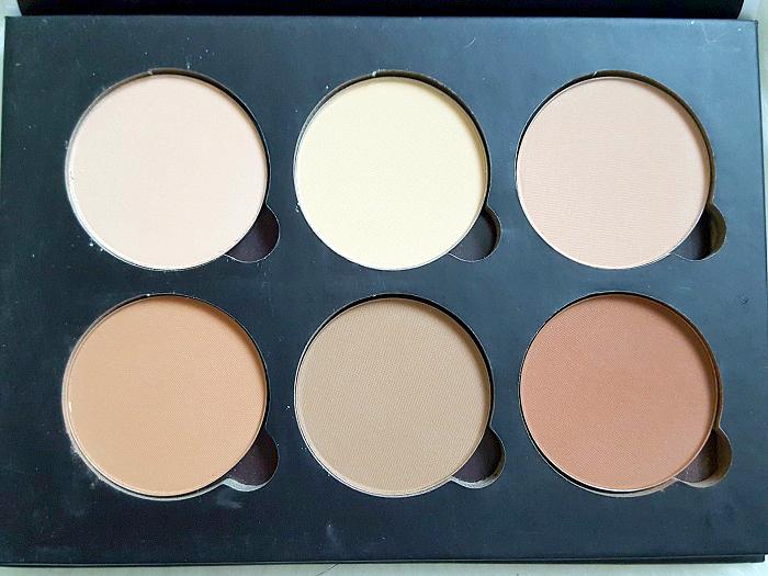 bellàpierre cosmetics - Contour & Highlight Pro Palette review 3