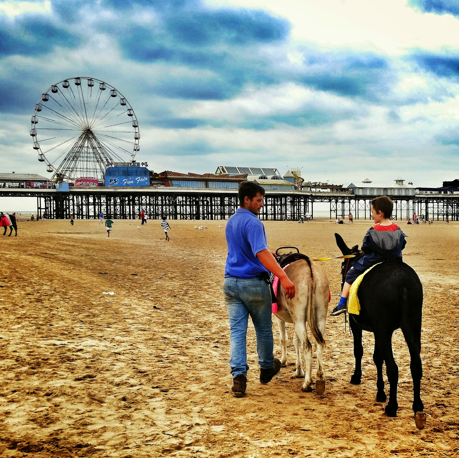 Donkey ride Blackpool