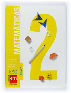 Libro Matemáticas 2º ESO SM Proyecto Ábaco