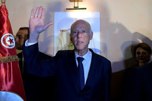 Outsider Saied set for landslide in Tunisia presidency: exit polls