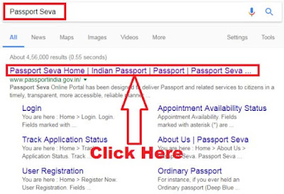how to change appointment date for passport online