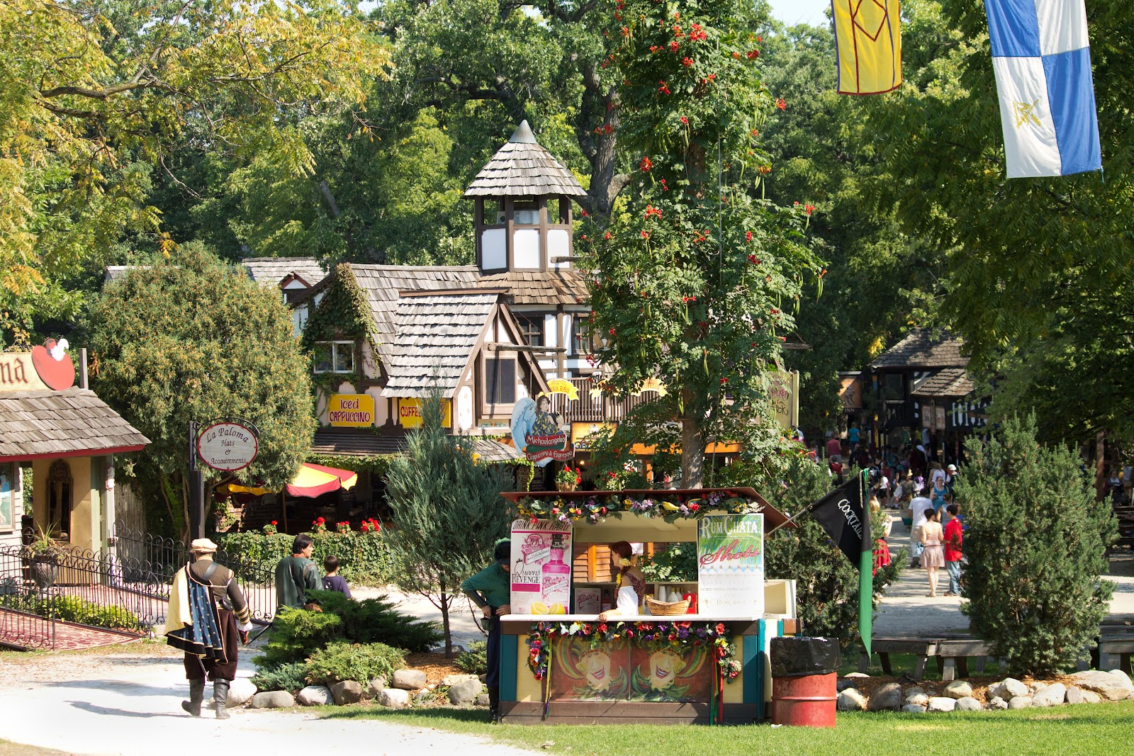 Renaissance Fairs: Midwestern City Girl: Huzzah! My Very First Trip To The