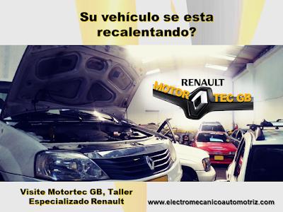 Mantenimiento Sistema de Enfriamiento Renault