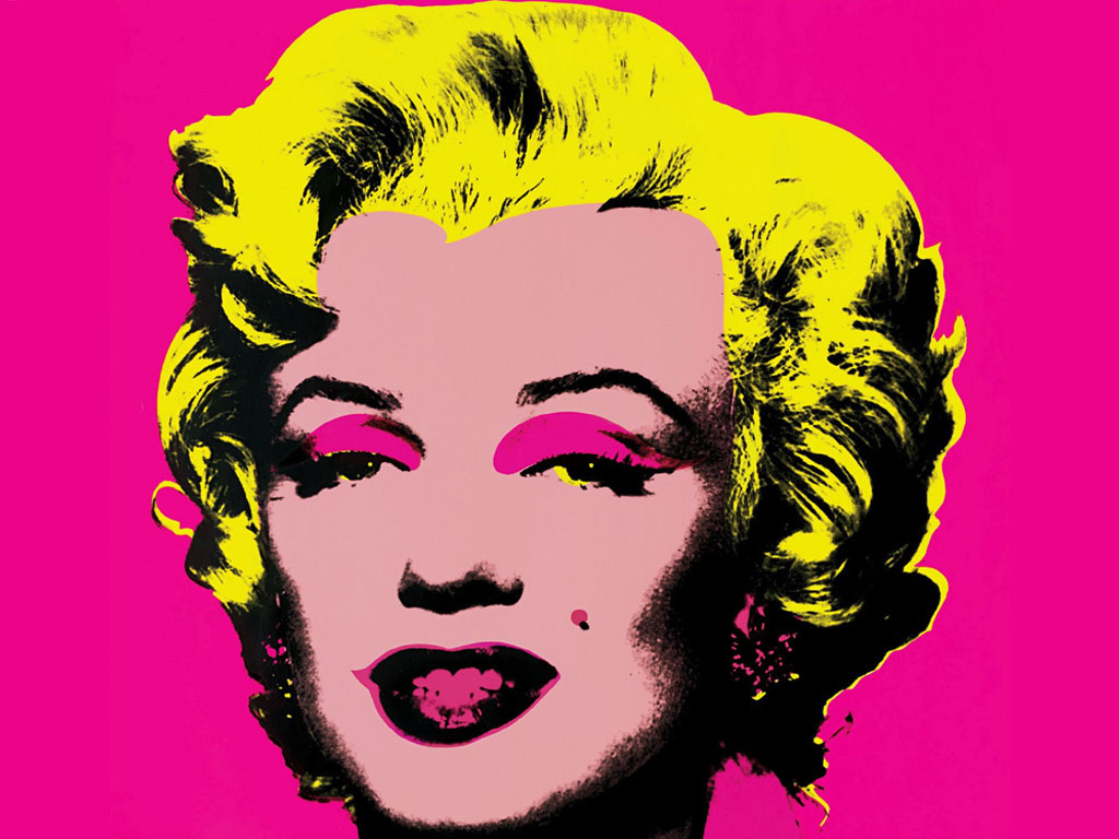 Marilyn Pop Art Andy Warhol Professora Simone Markes Pop Art Andy Warhol
