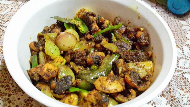 Octopus Pickle (Vindaye) Recipe