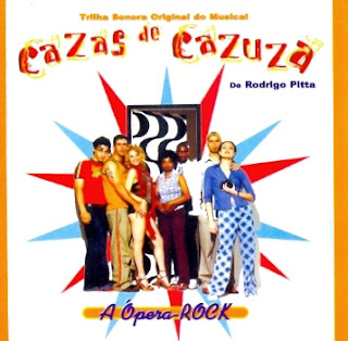 "Capa do disco com a Trilha Sonora do Musical ""Cazas de Cazuza"""