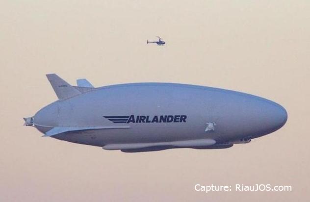 Airlander 10 sukses mengudara