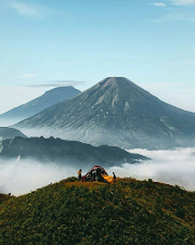 Mount Prau Dieng, The Most Beautiful Place To Enjoy Sunrise