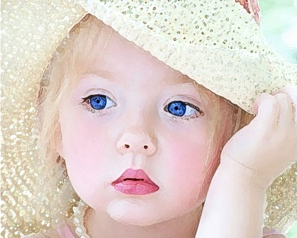 Cute Baby With Hat Wallpapers: Only Wallpapers: Baby Girls Wallpapers