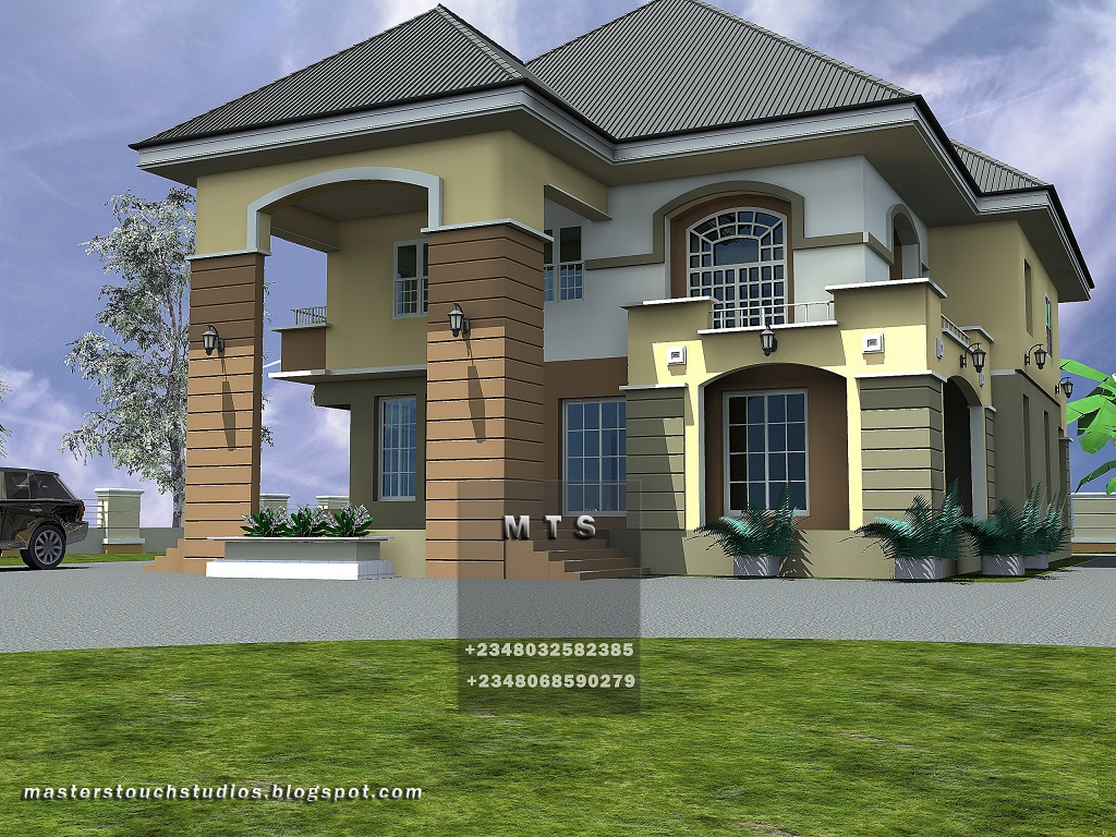 4 Bedroom Duplex Modern And Contemporary Nigerian