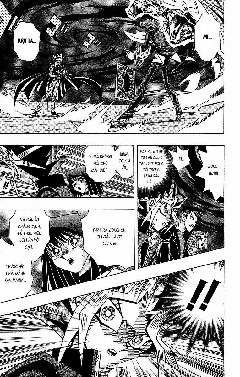 YUGI-OH! chap 243 - jonouchi và marik trang 18