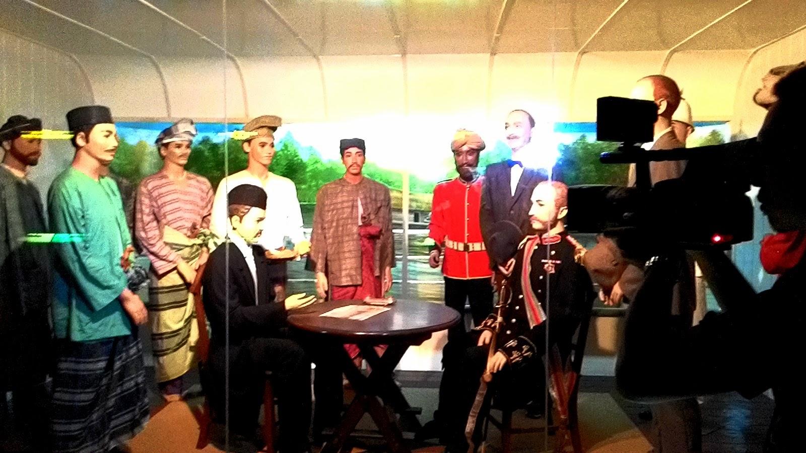 Terowong Sejarah Pasir Salak, Perjanjian Pangkor