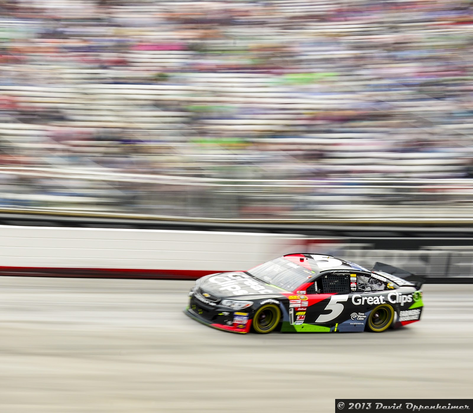Kasey Kahne during NASCAR Sprint Cup Food City 500