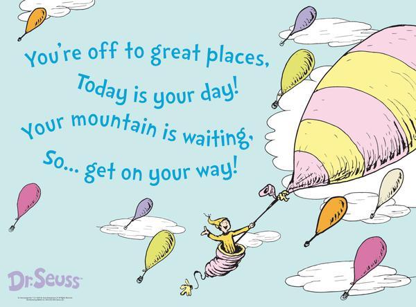 Dr Seuss Quotes You Go Places. QuotesGram