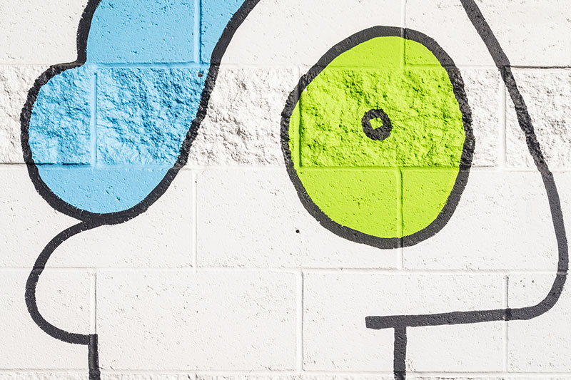 Thierry-Noir-Los-Angeles-NOHO-Mural-13 Freedom Boulevard: Mural by Thierry Noir Design