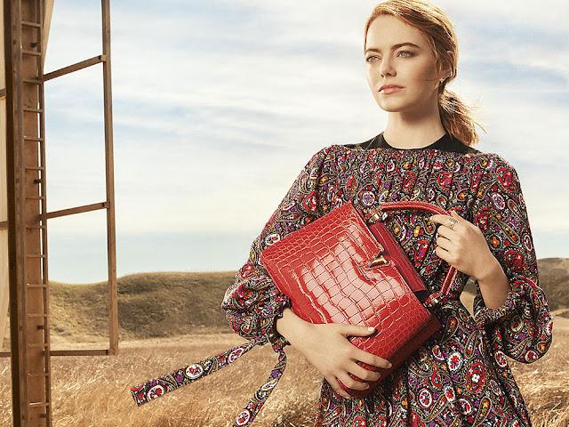 Emma Stone ve Capucines ile Louis Vuitton'un Yeni Reklam Kampanyası