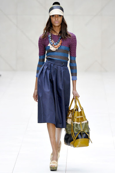 SPRING 2012 READY-TO-WEAR Burberry Prorsum jumper top