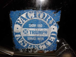 Triumph Show and Service Week sticker