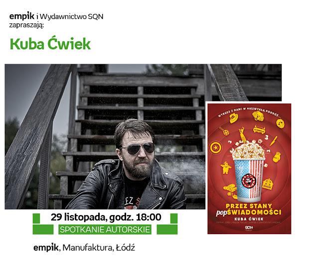Empik w Łodzi zaprasza na ostatnie spotkania w tym roku!