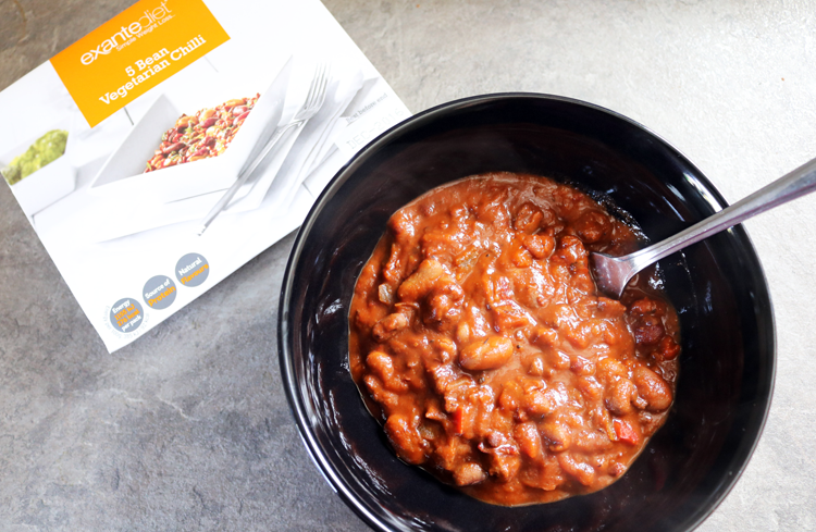 Exante 5 Bean Vegetarian Chilli review