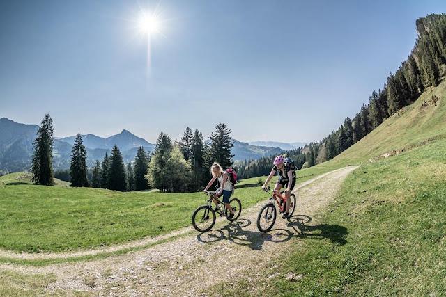 schwanger fahrradfahren in den bergen was ist möglich, petra zeller